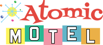 atomic motel logo